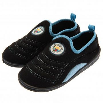 Manchester City Boot Slippers - Size 1/2